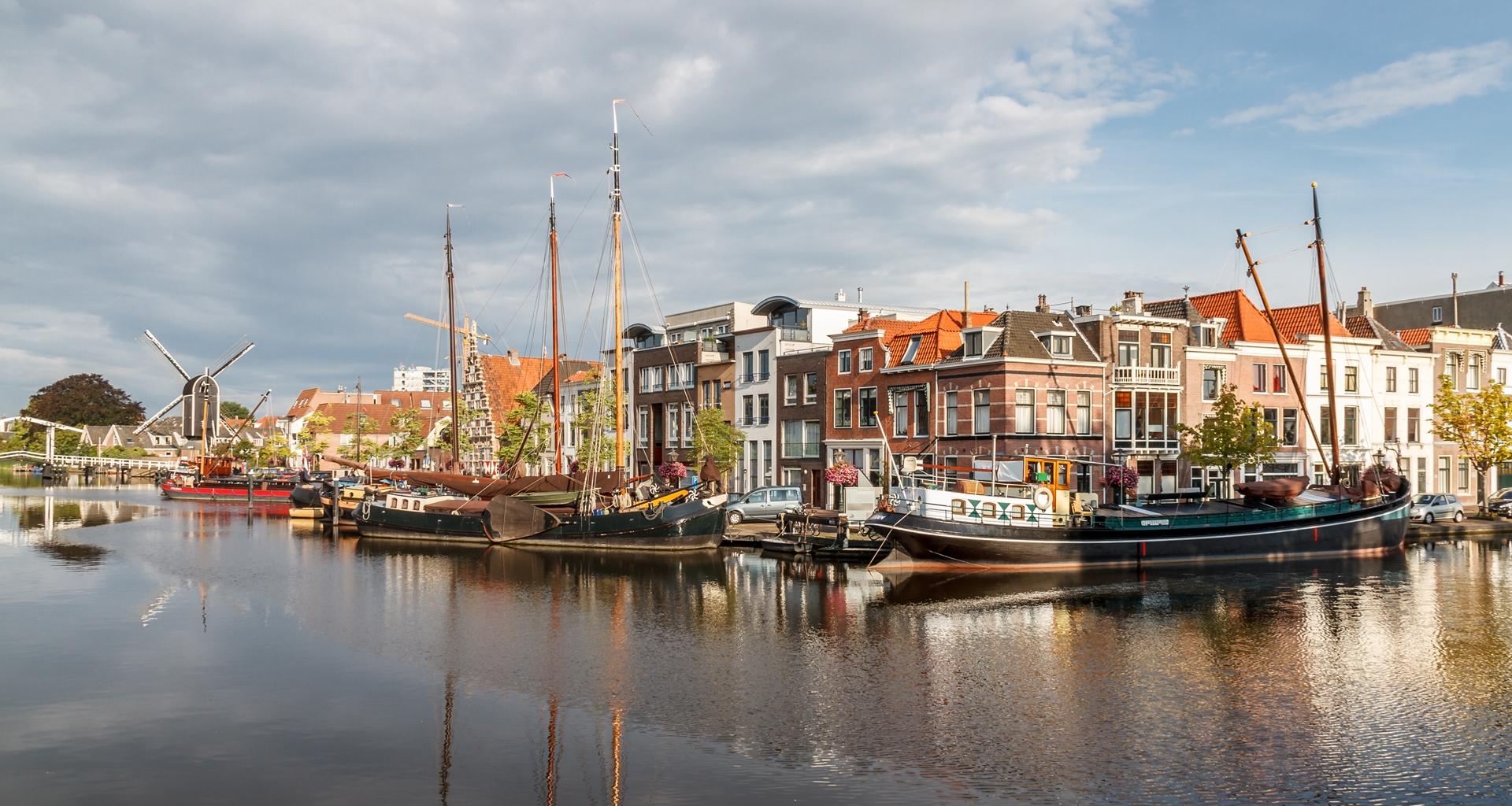 Fietsroutenetwerk | Leiden stad van water en groen